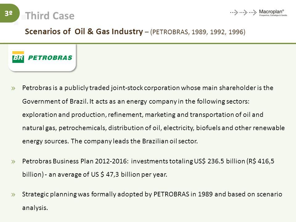 Third Case Scenarios of Oil & Gas Industry – (PETROBRAS, 1989, 1992, 1996)