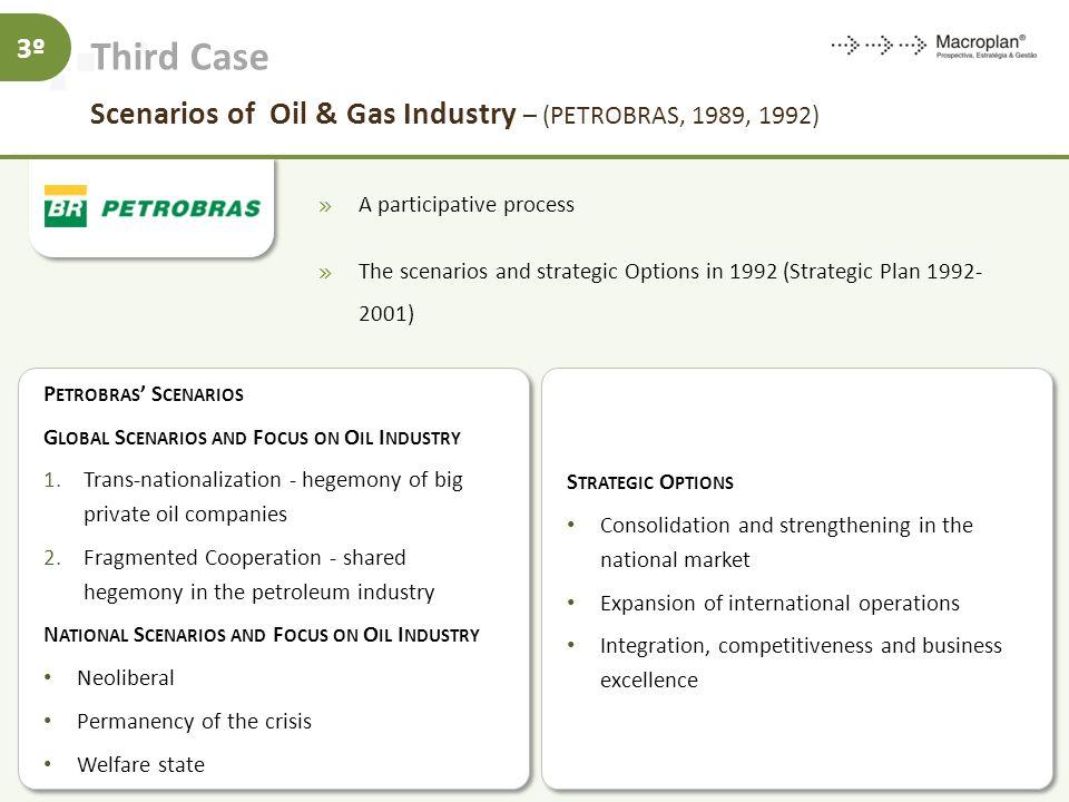 Third Case Scenarios of Oil & Gas Industry – (PETROBRAS, 1989, 1992)