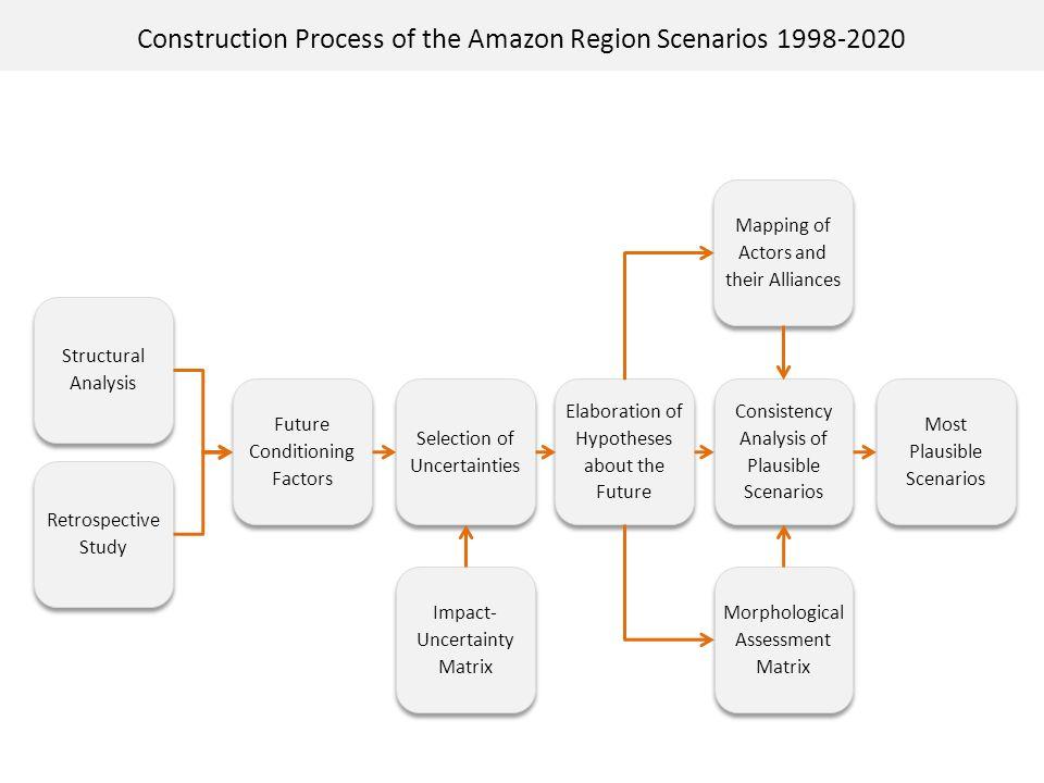 Construction Process of the Amazon Region Scenarios 1998-2020