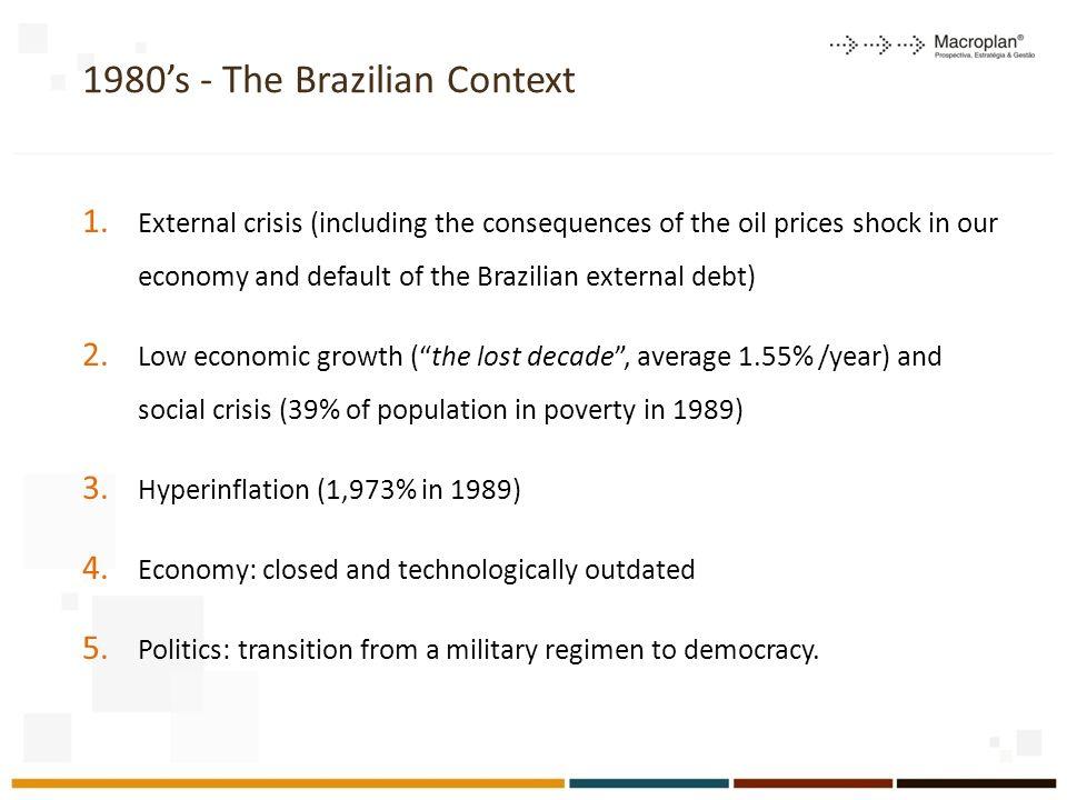 1980's - The Brazilian Context