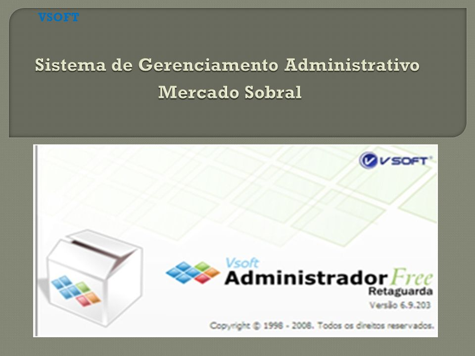 Sistema de Gerenciamento Administrativo Mercado Sobral