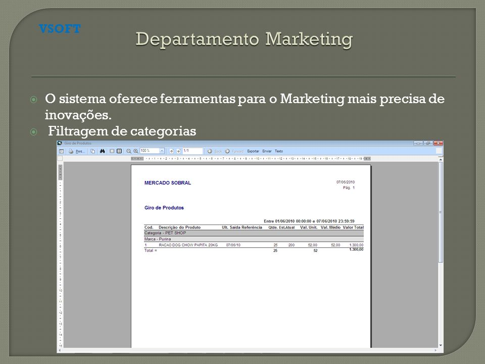 Departamento Marketing