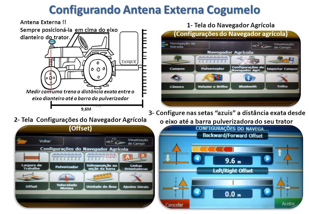Configurando Antena Externa Cogumelo