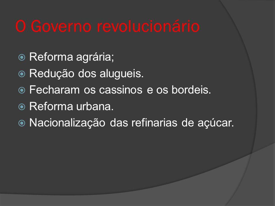O Governo revolucionário