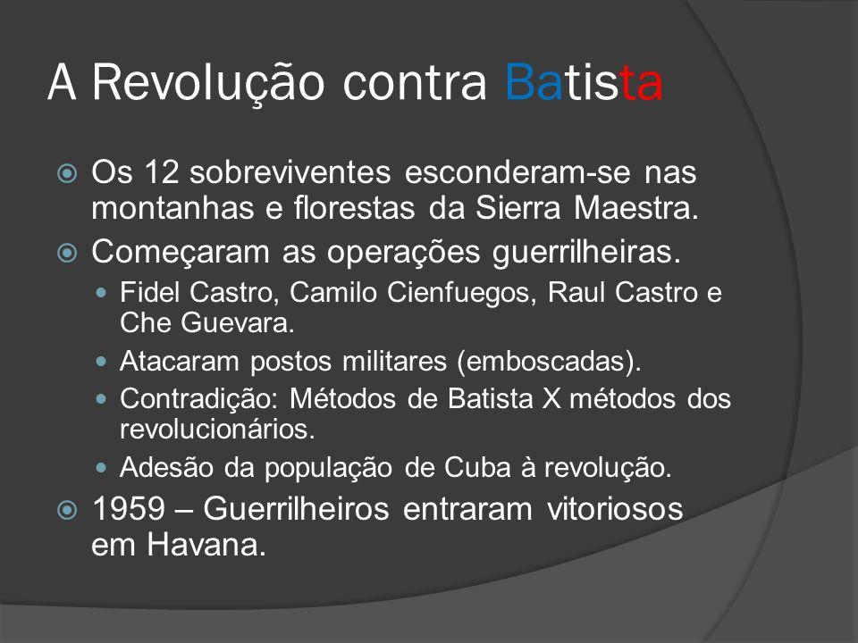 A Revolução contra Batista
