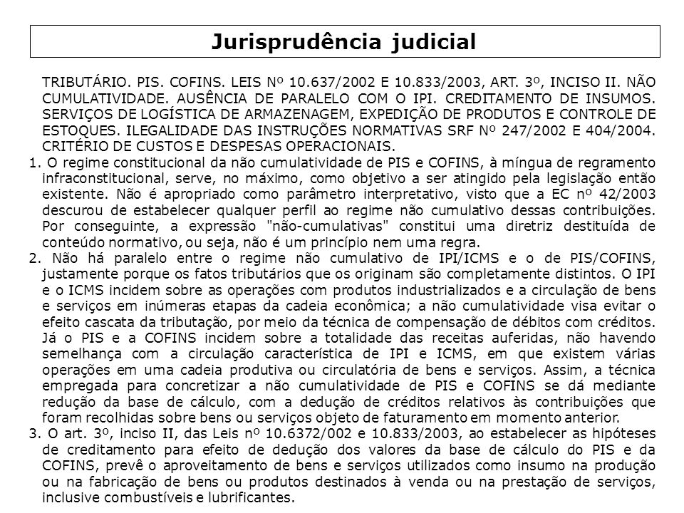 Jurisprudência judicial