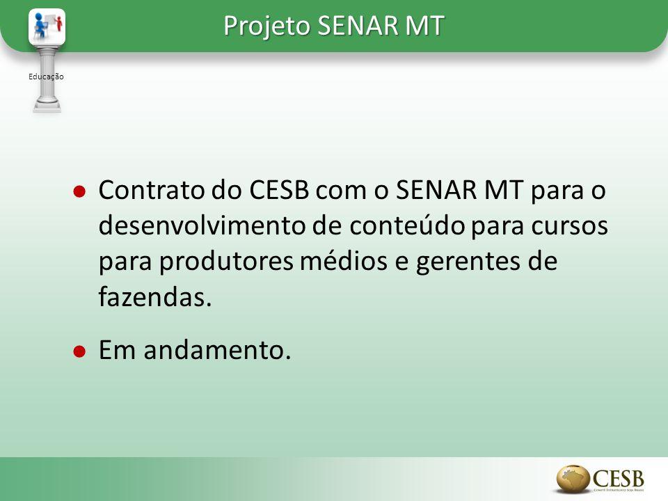 Projeto SENAR MT Educação.