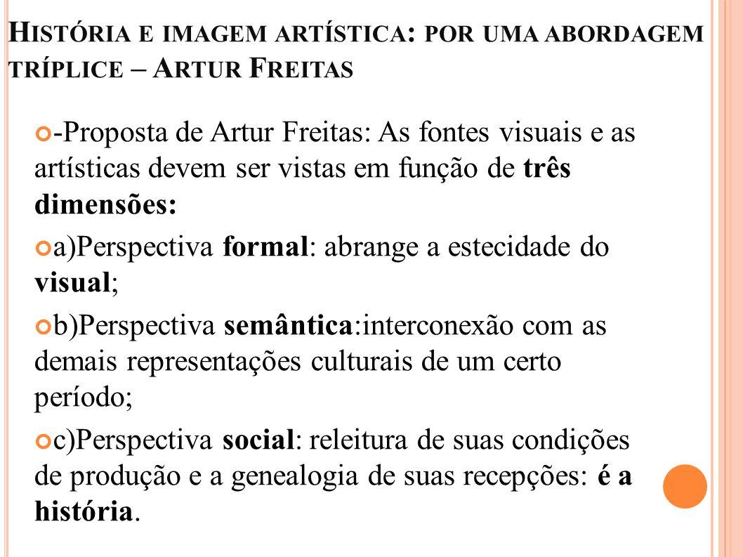 História e imagem artística: por uma abordagem tríplice – Artur Freitas