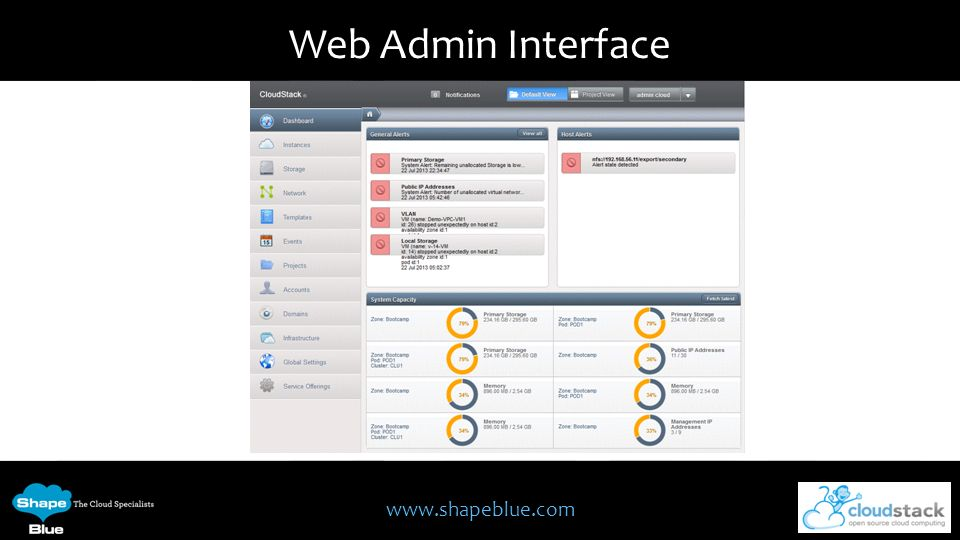 Web Admin Interface