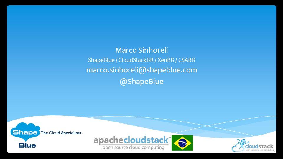 ShapeBlue / CloudStackBR / XenBR / CSABR