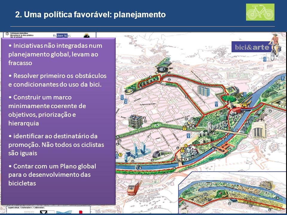 2. Uma política favorável: planejamento