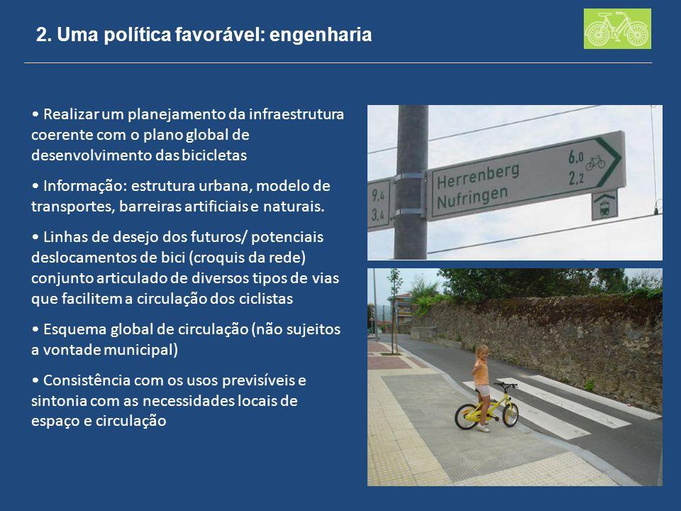 2. Uma política favorável: engenharia