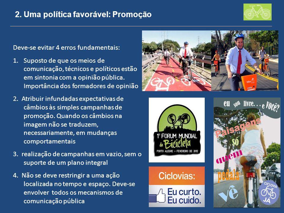 2. Uma política favorável: Promoção