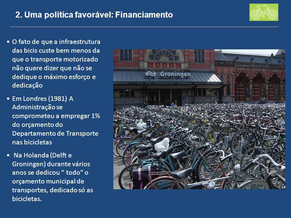 2. Uma política favorável: Financiamento