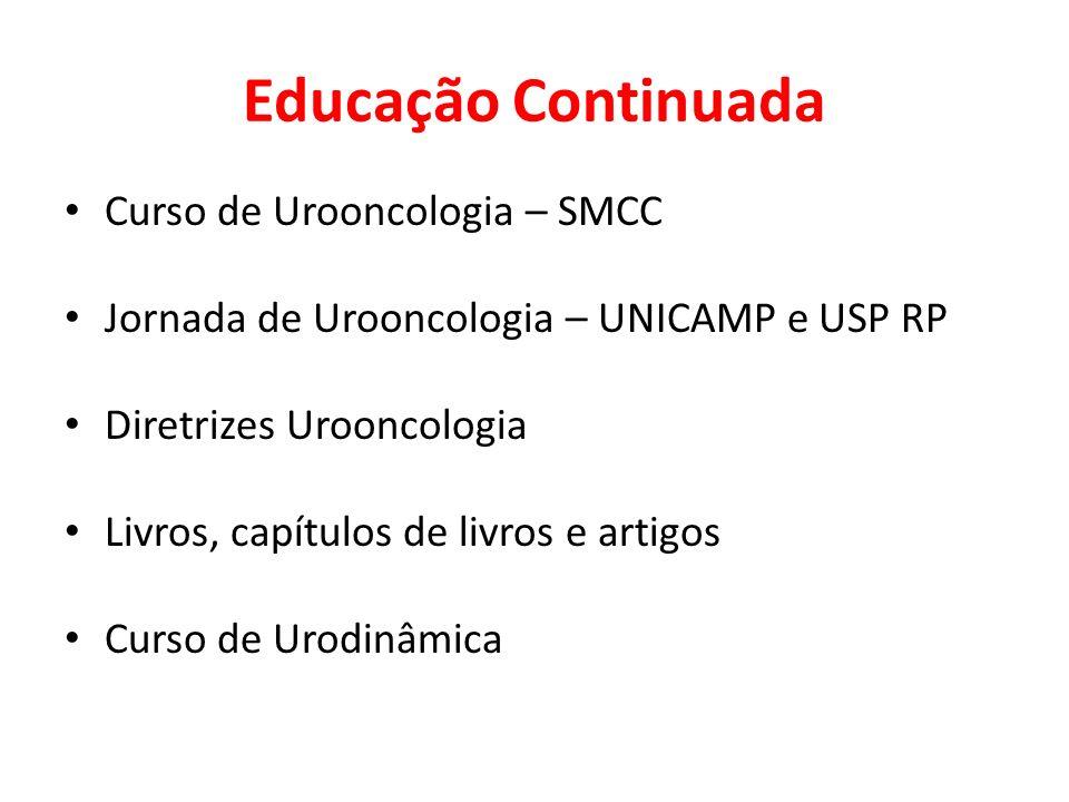 Educação Continuada Curso de Urooncologia – SMCC