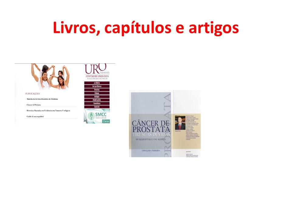 Livros, capítulos e artigos