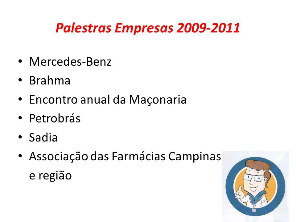 Palestras Empresas 2009-2011 Mercedes-Benz Brahma