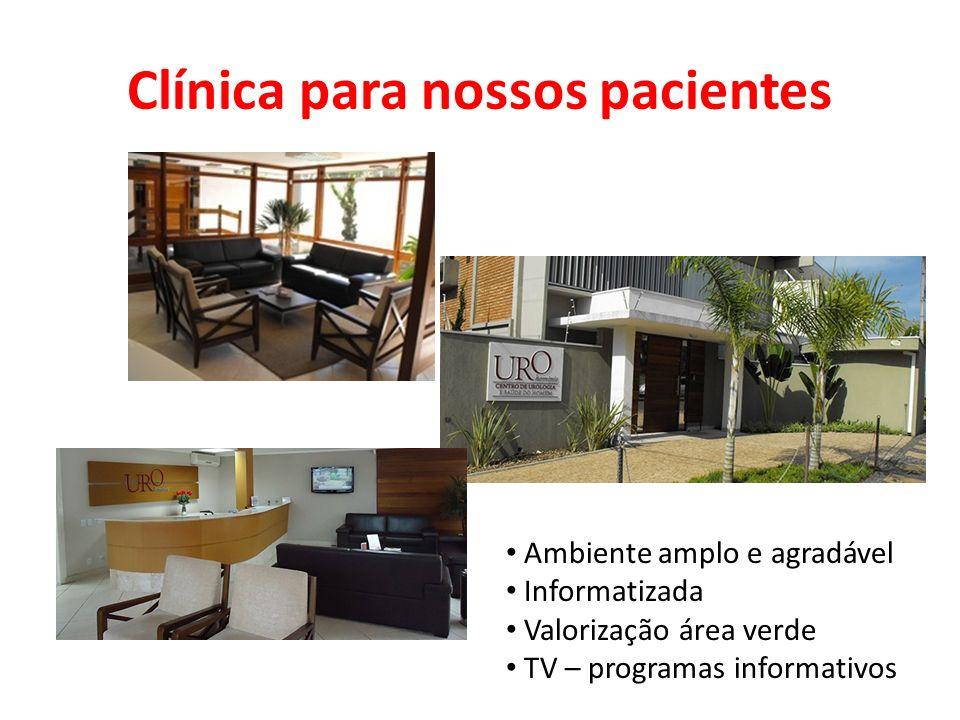 Clínica para nossos pacientes