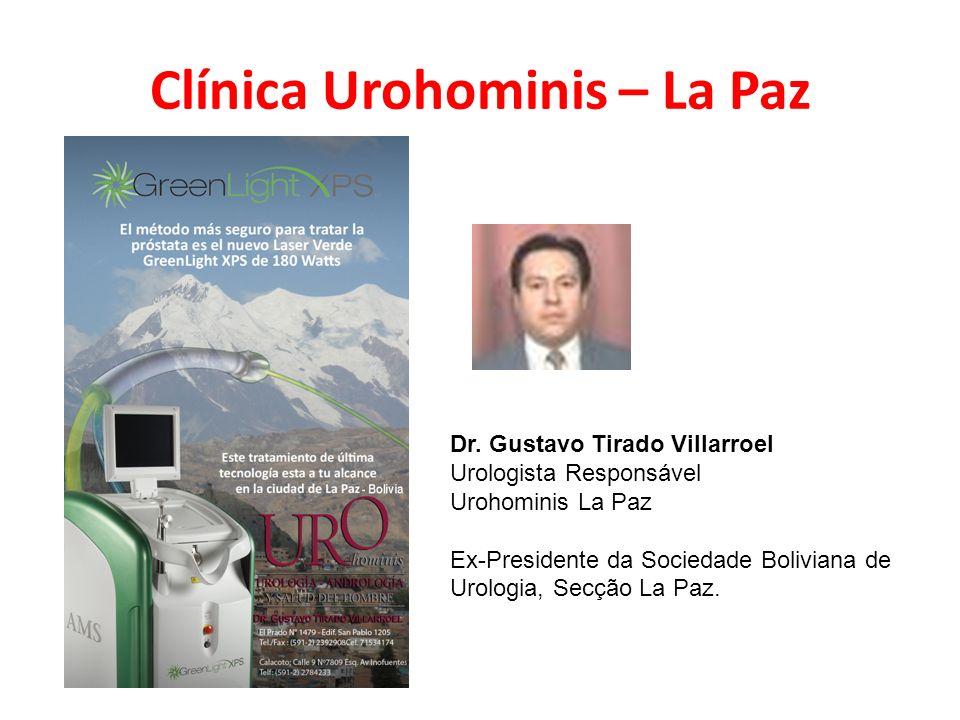 Clínica Urohominis – La Paz