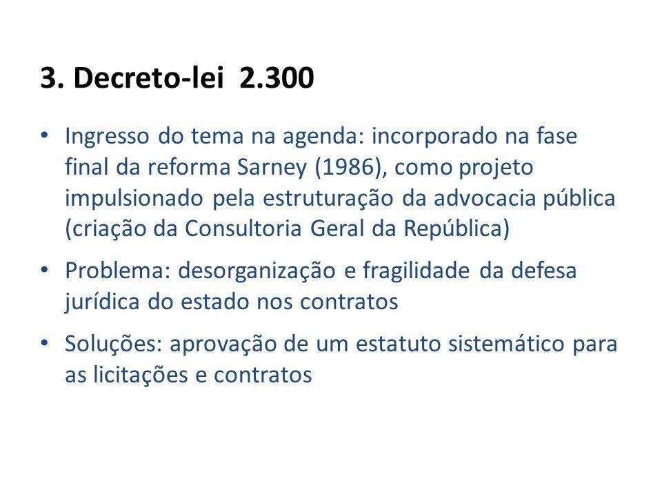 3. Decreto-lei 2.300