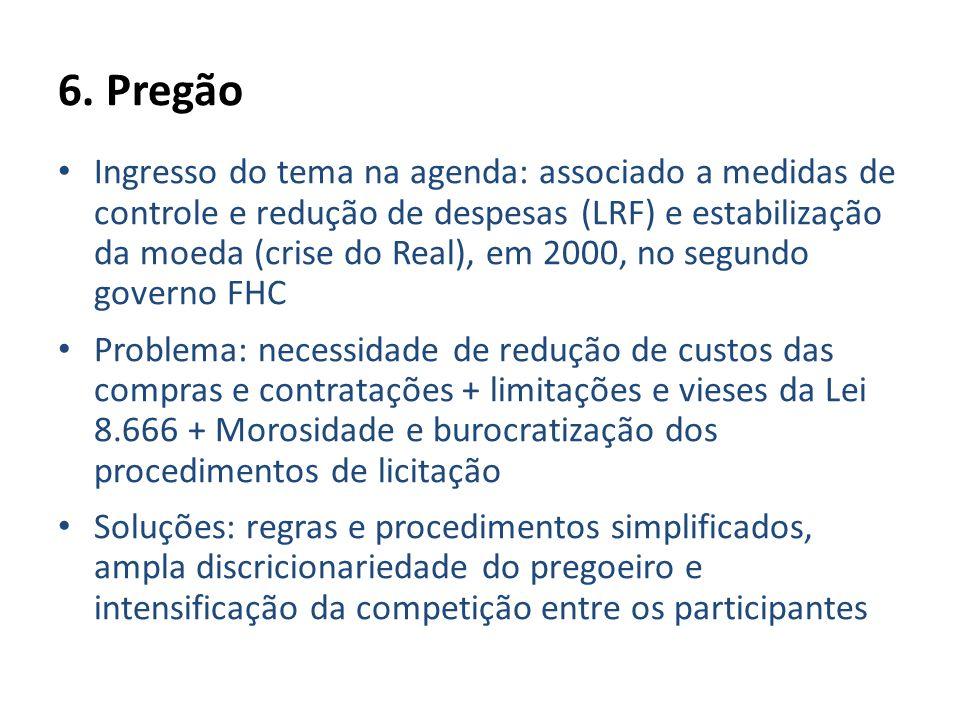 6. Pregão