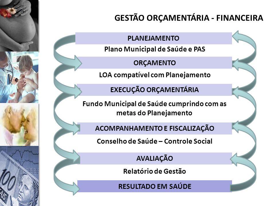 GESTÃO ORÇAMENTÁRIA - FINANCEIRA
