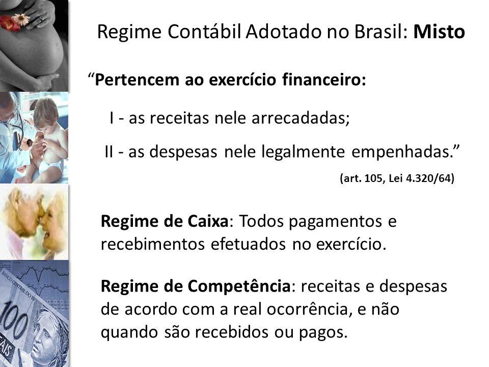 Regime Contábil Adotado no Brasil: Misto