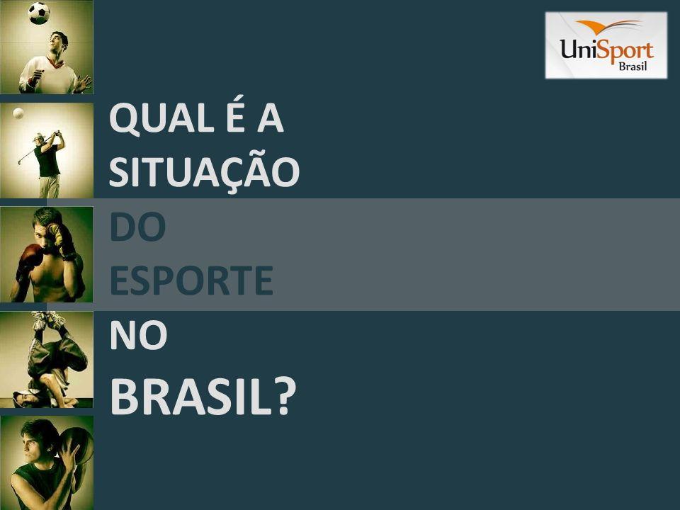 QUAL É A SITUAÇÃO DO ESPORTE NO BRASIL