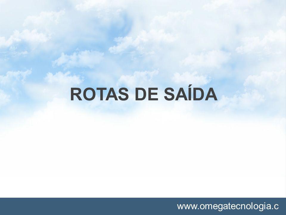 ROTAS DE SAÍDA