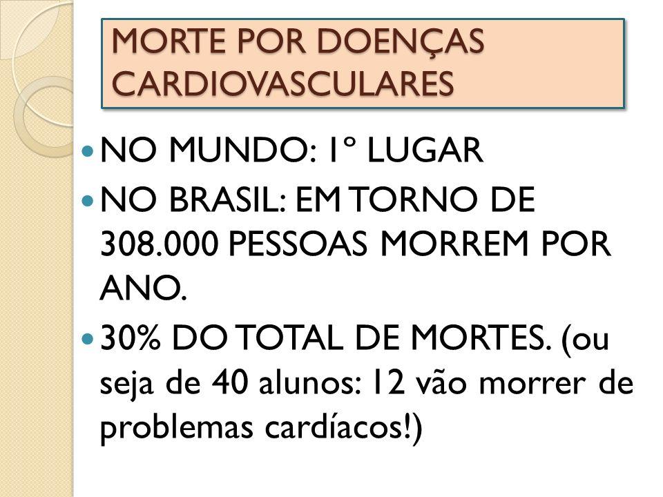 MORTE POR DOENÇAS CARDIOVASCULARES