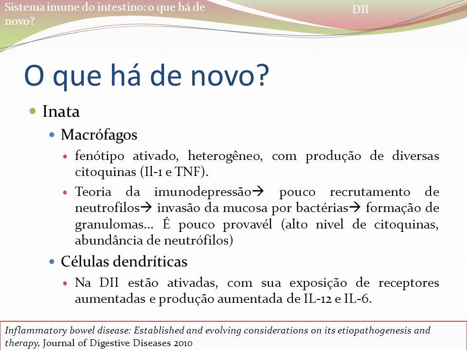 O que há de novo Inata Macrófagos Células dendríticas