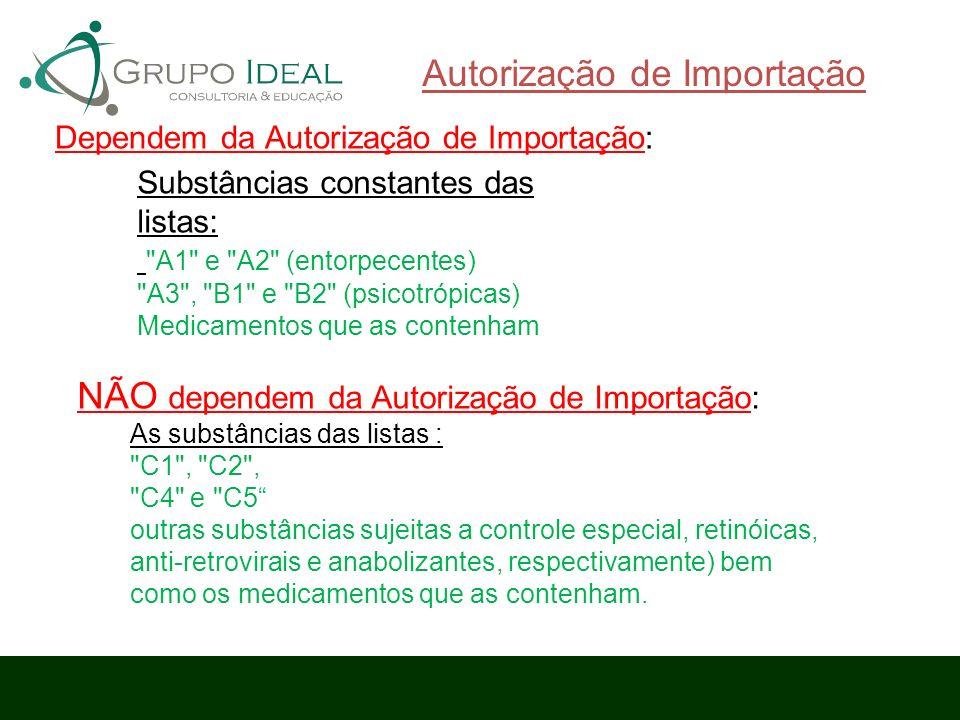 Autorização de Importação