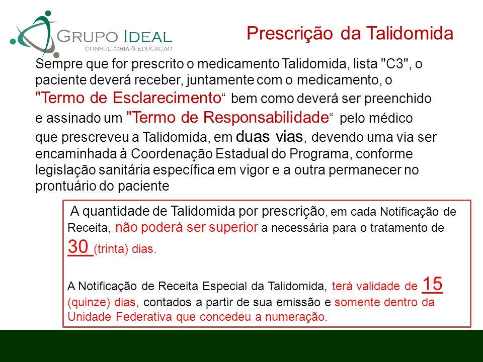 Prescrição da Talidomida
