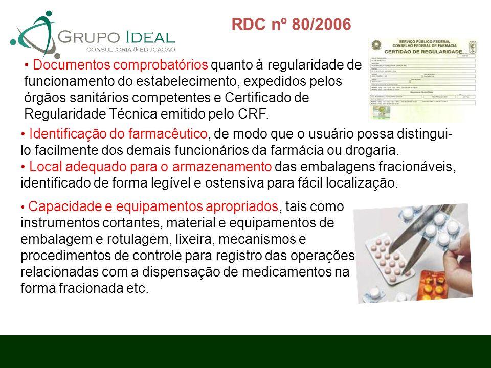 RDC nº 80/2006