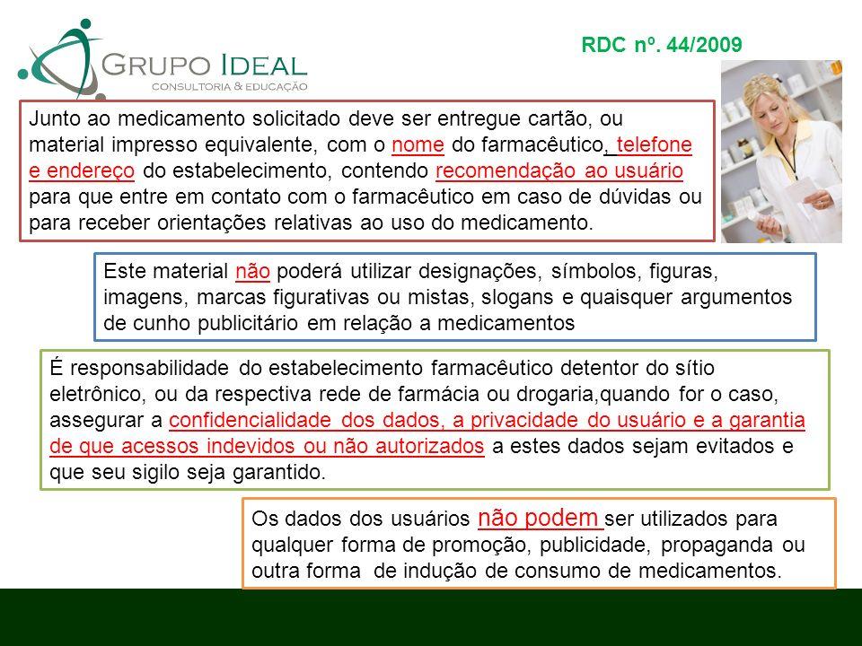 RDC nº. 44/2009