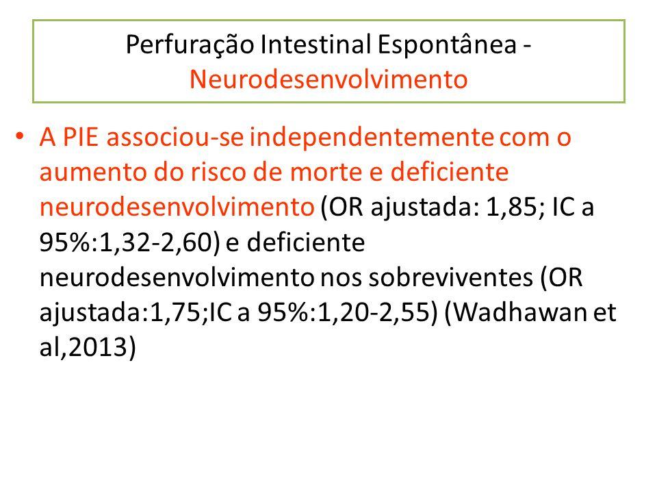 Perfuração Intestinal Espontânea - Neurodesenvolvimento