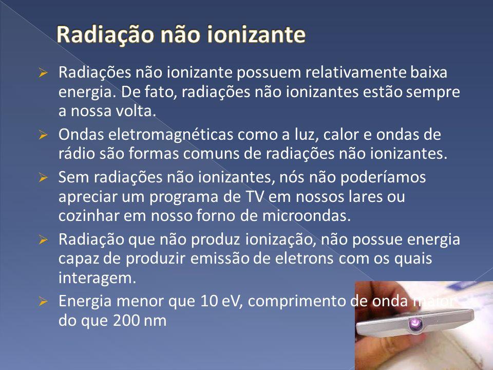 Radiação não ionizante