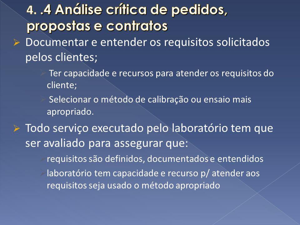 4. .4 Análise crítica de pedidos, propostas e contratos