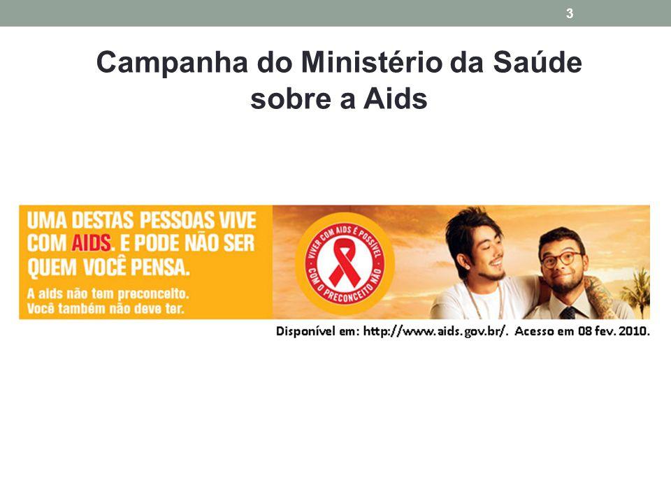 Campanha do Ministério da Saúde