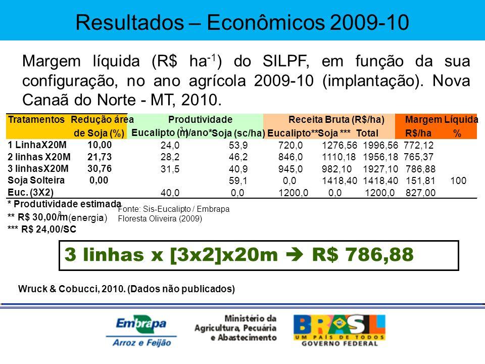 Resultados – Econômicos 2009-10