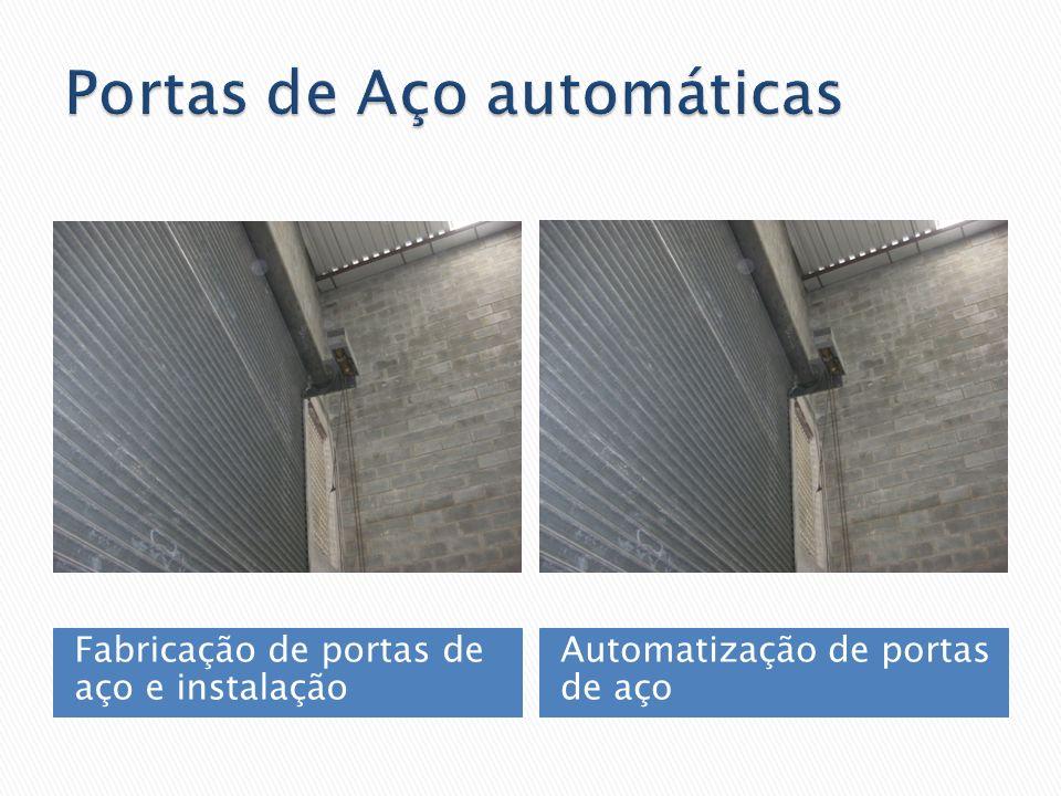 Portas de Aço automáticas