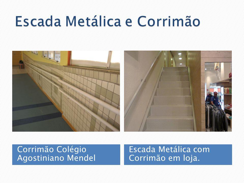 Escada Metálica e Corrimão