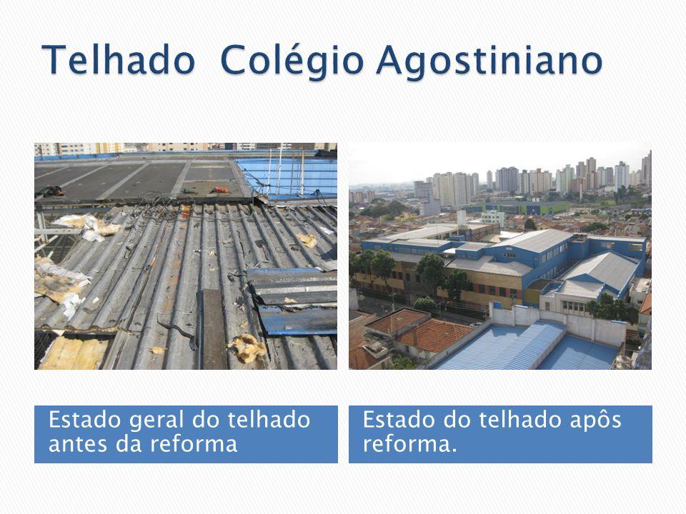 Telhado Colégio Agostiniano