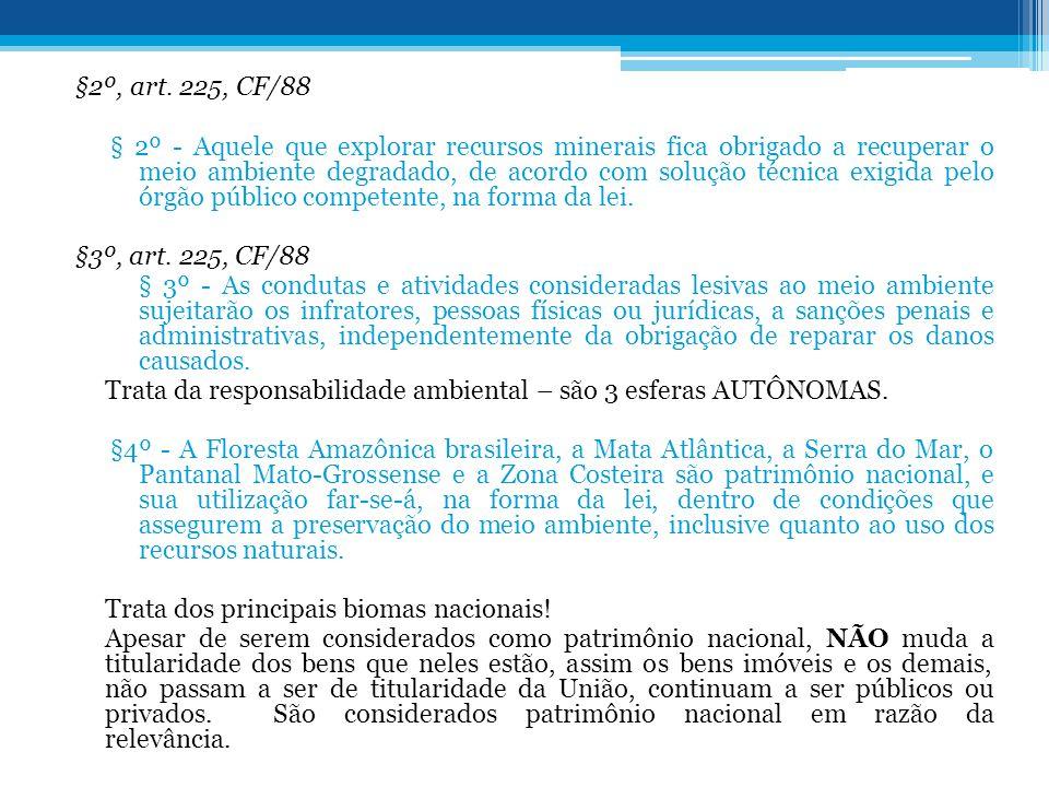 §2º, art. 225, CF/88