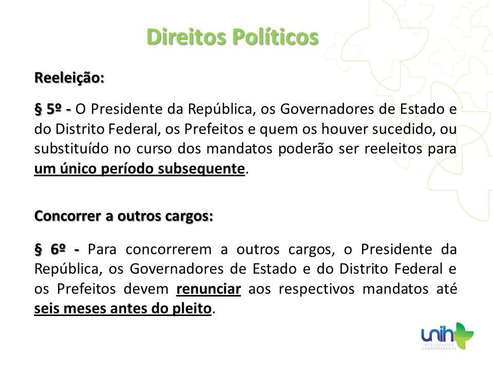 Direitos Políticos Reeleição: