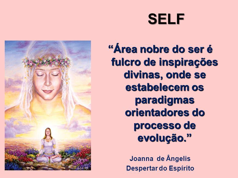 SELF Área nobre do ser é fulcro de inspirações divinas, onde se estabelecem os paradigmas orientadores do processo de evolução.