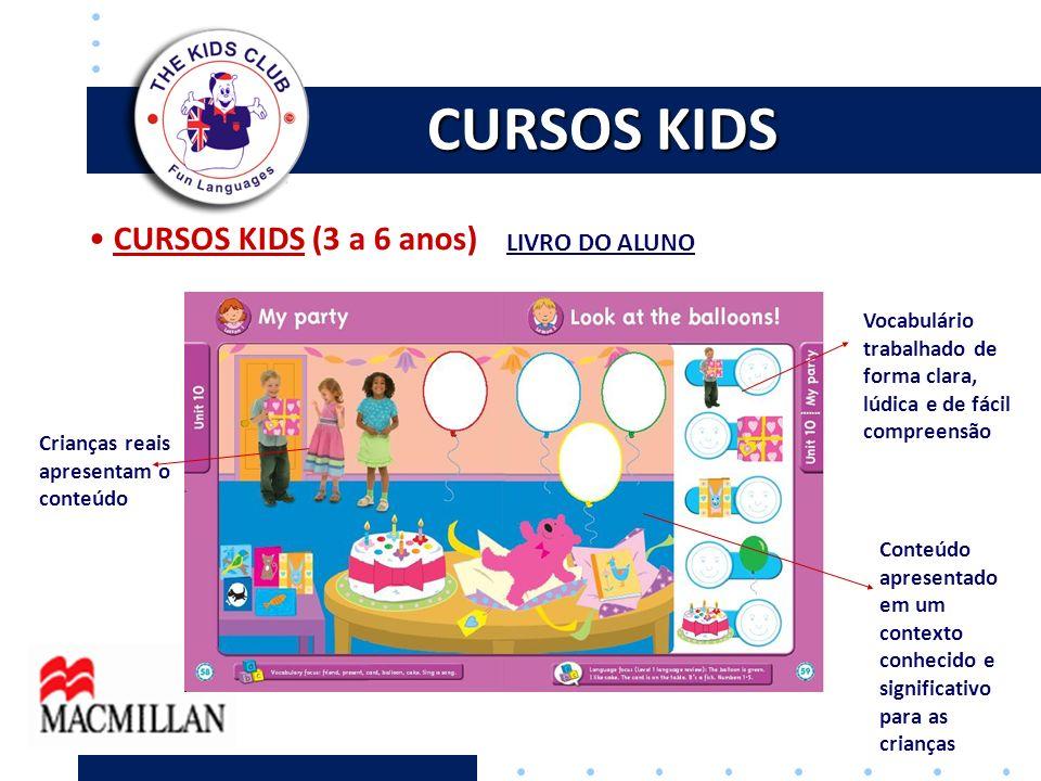 CURSOS KIDS CURSOS KIDS (3 a 6 anos) LIVRO DO ALUNO
