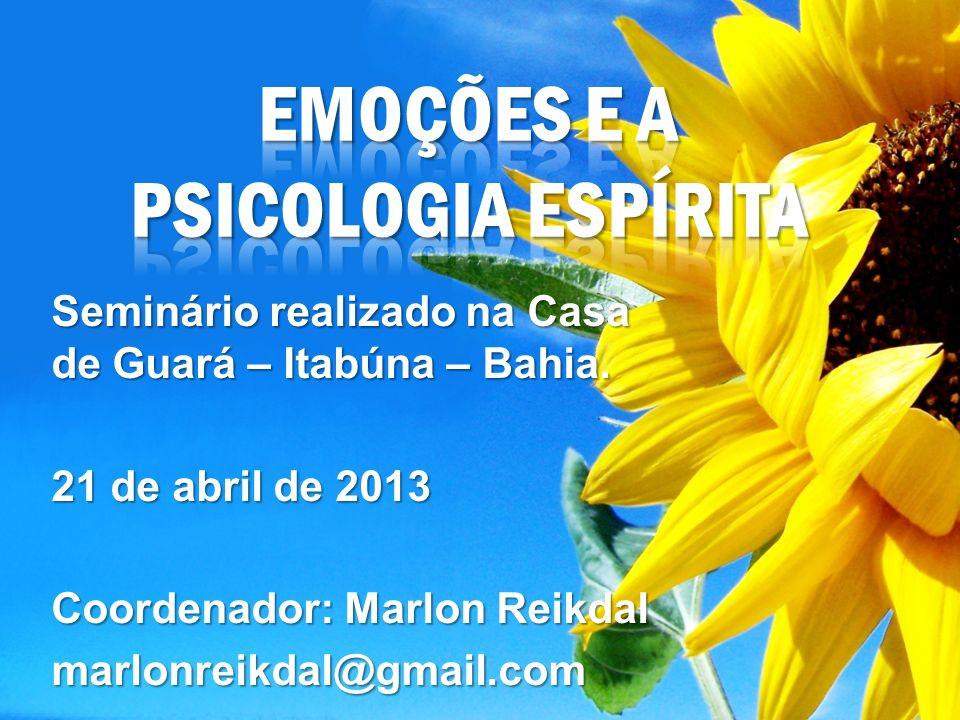 EMOÇÕES e a Psicologia Espírita