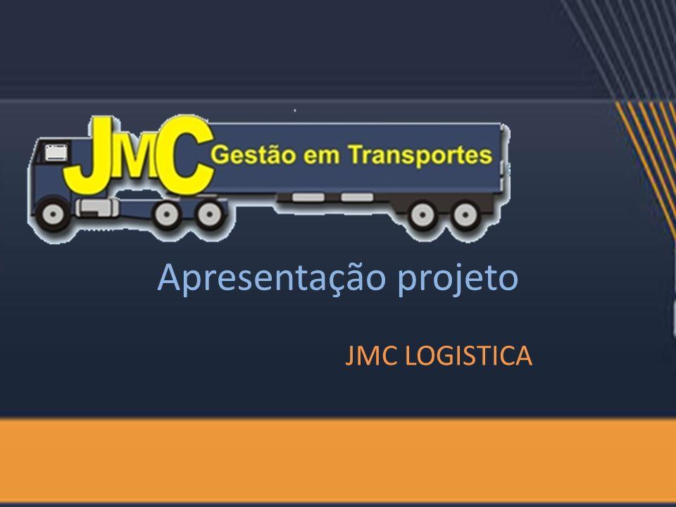 Apresentação projeto JMC LOGISTICA