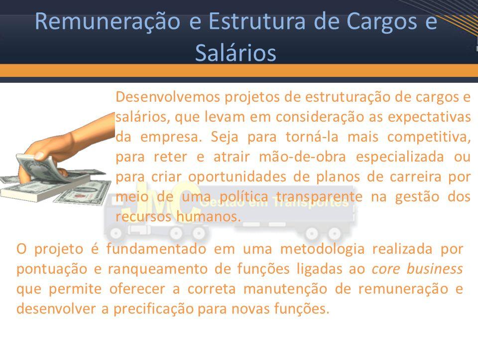 Remuneração e Estrutura de Cargos e Salários